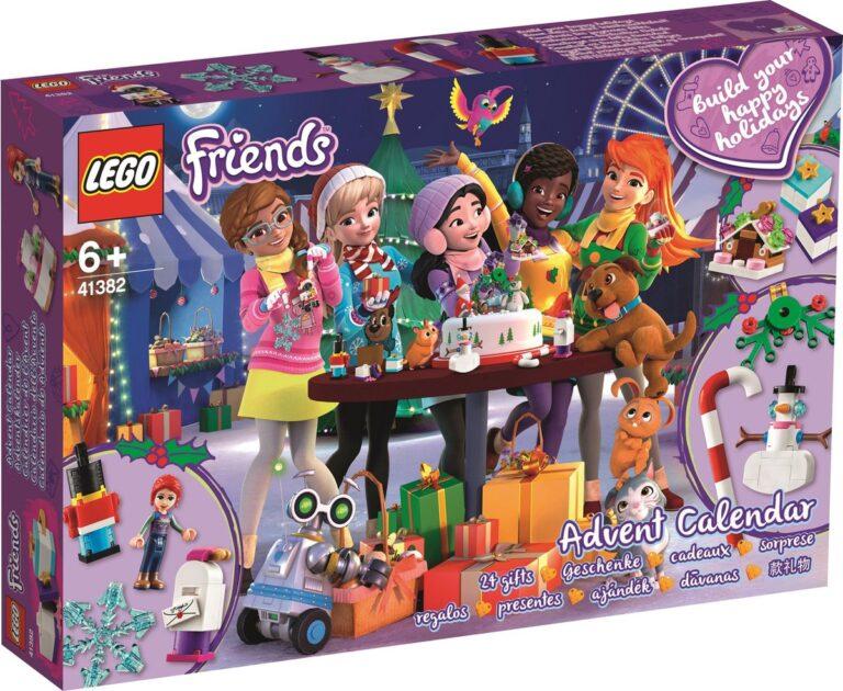 Lego adventskalender friends