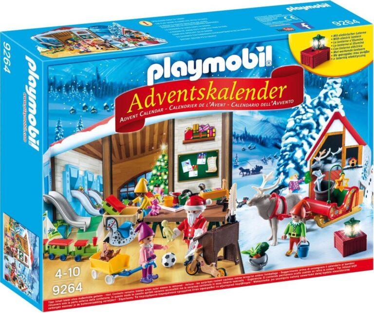 Playmobil Adventskalender kerstatelier