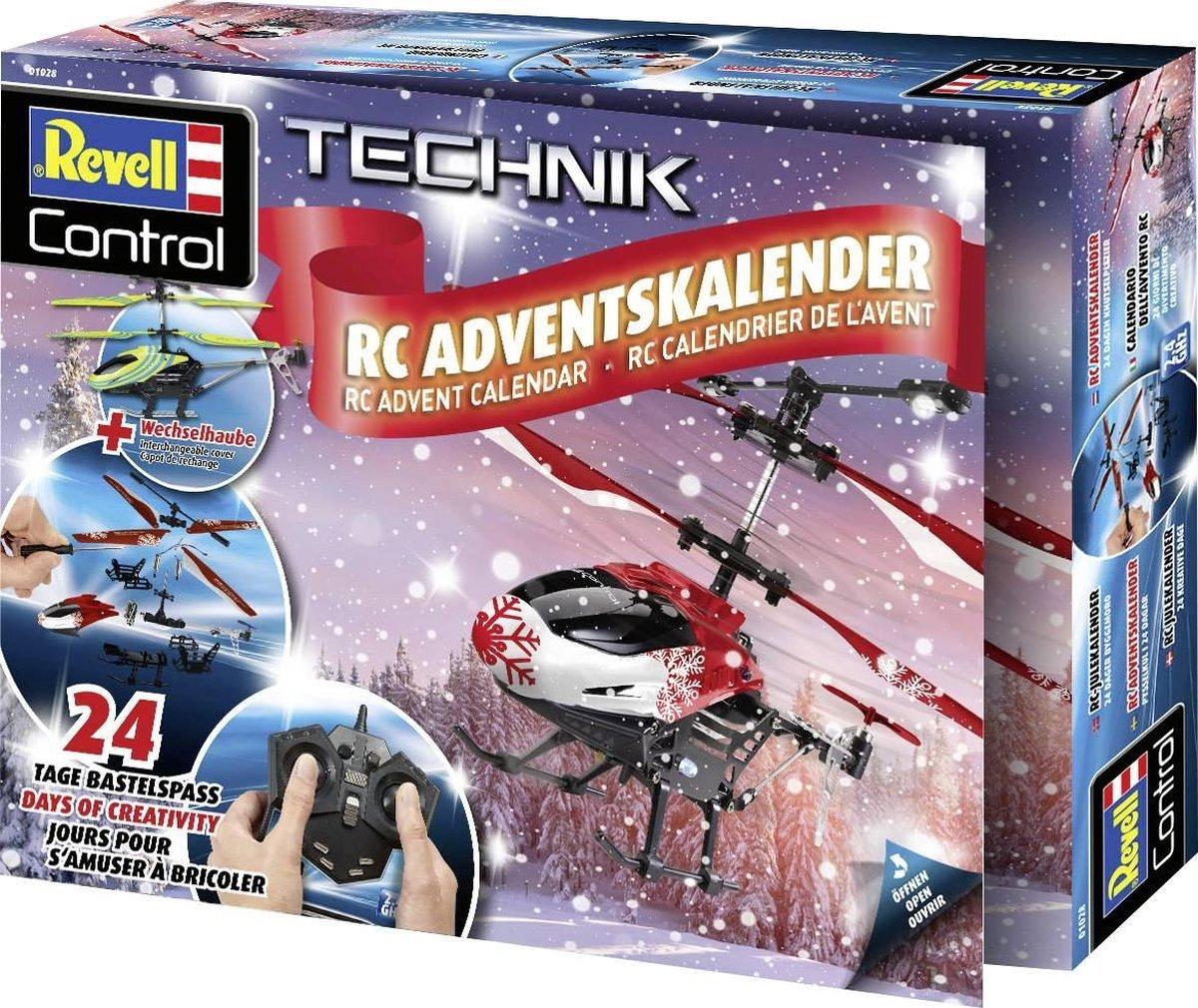 Revell adventskalender helikopter 2020